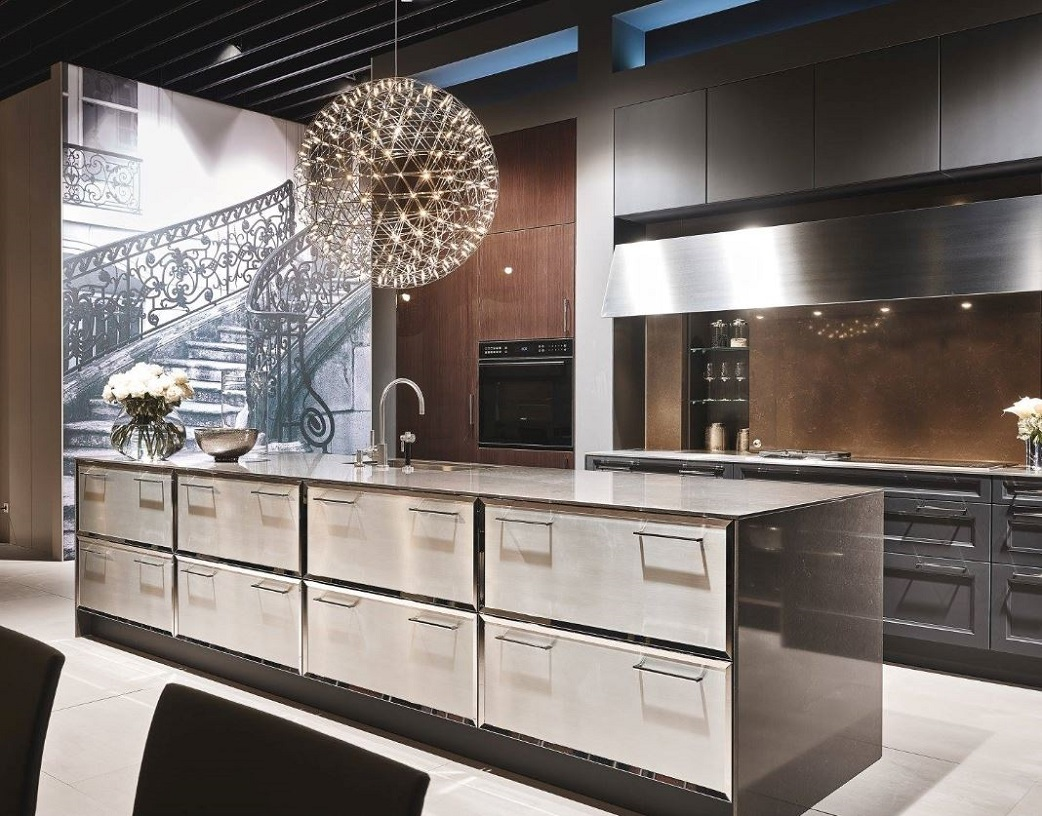 SieMatic SE2002 RFL Graphite Grey Gloss
