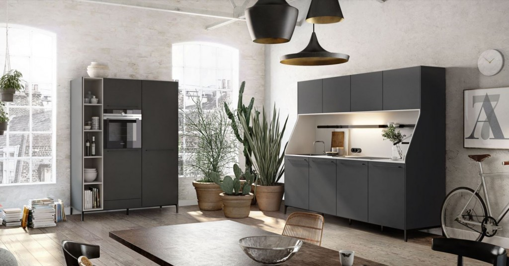 SieMatic S2SLG Agate Grey - Kitchens by Design